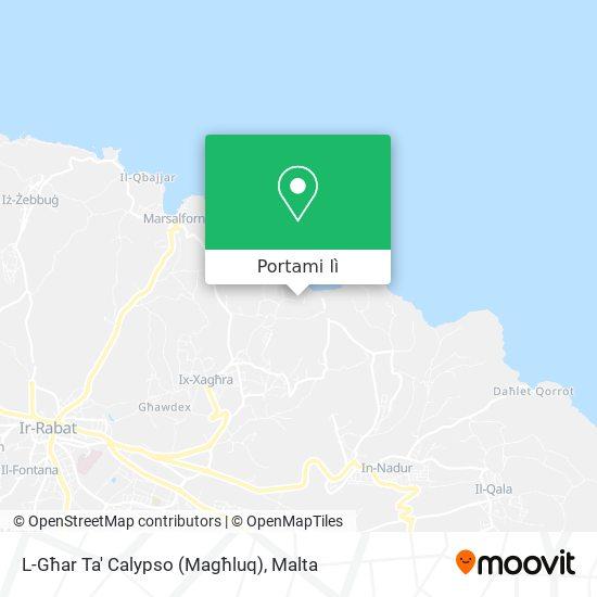 Mappa Calypso's Cave And Garden