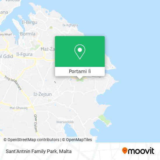 Mappa Sant Antnin Family Park