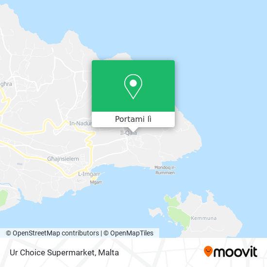 Mappa Ur Choice Supermarket