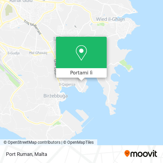 Mappa Port Ruman