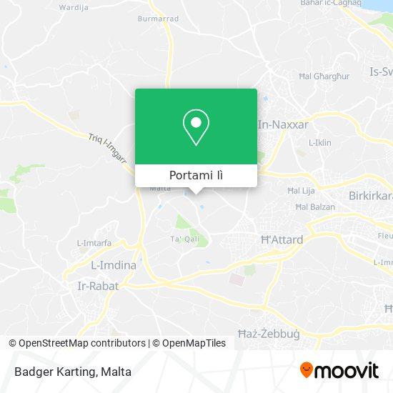 Mappa Badger Karting