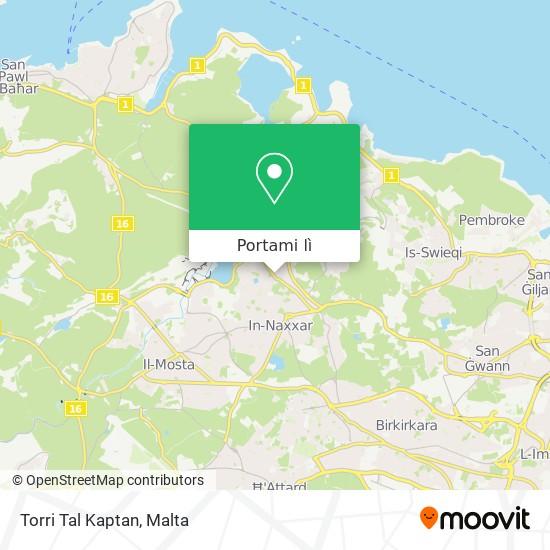 Mappa Torri Tal Kaptan