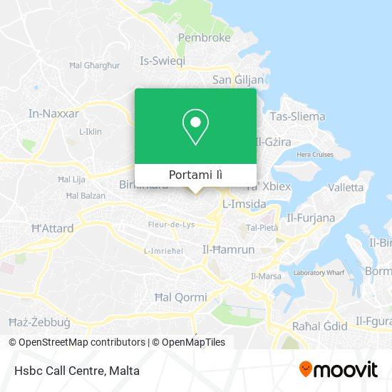 Mappa Hsbc Call Centre