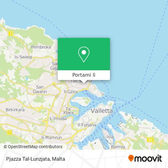 Mappa Pjazza Tal-Lunzjata