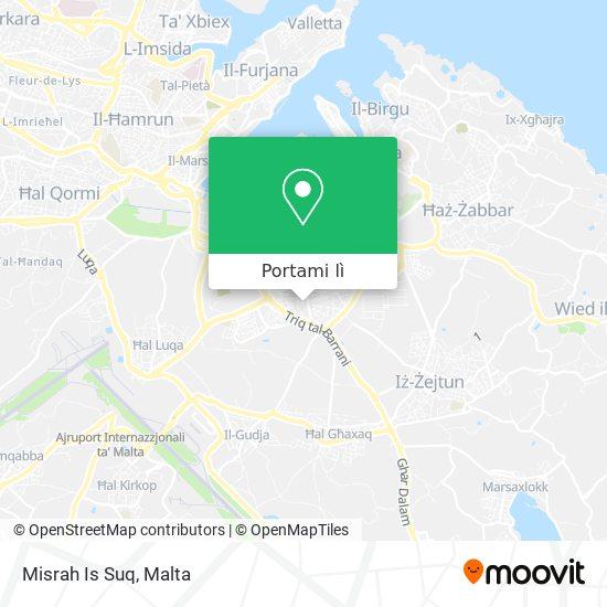 Mappa Misrah Is Suq
