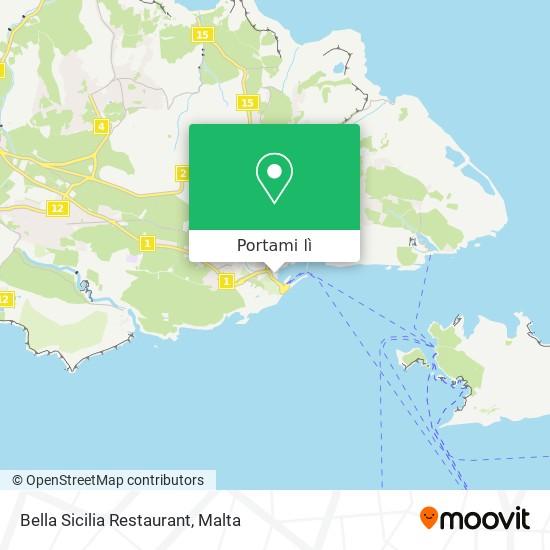 Mappa Bella Sicilia Restaurant