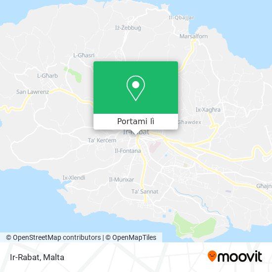 Mappa Ir-Rabat (Victoria)