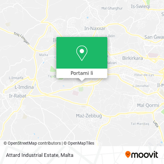 Mappa Attard Industrial Estate