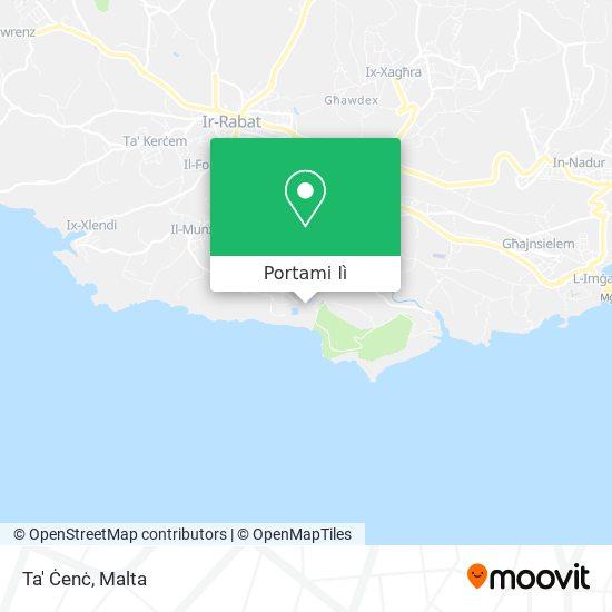 Mappa Ta' Ċenċ
