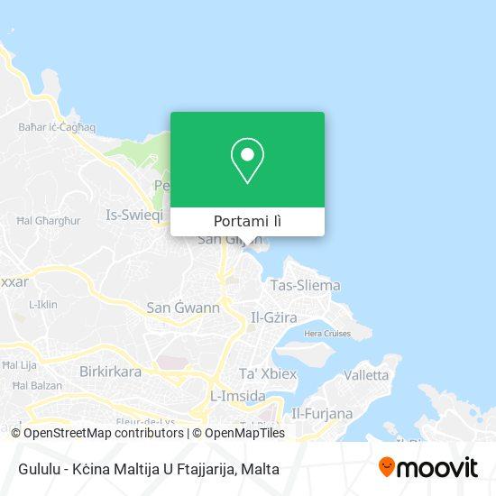 Mappa Gululu - Kċina Maltija U Ftajjarija