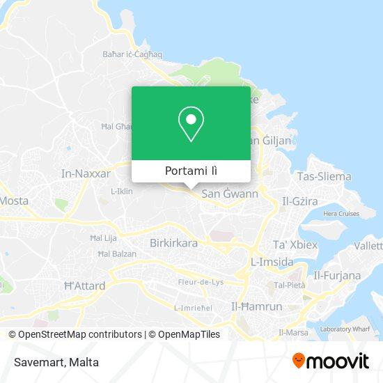 Mappa Savemart