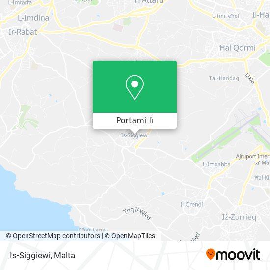 Mappa Is-Siġġiewi