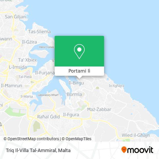 Mappa Triq Il-Villa Tal-Ammiral