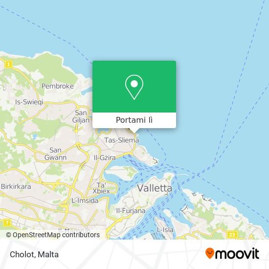 Mappa Cholot