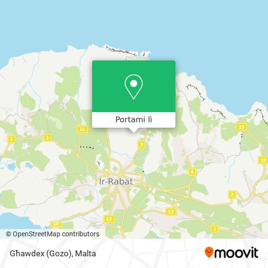 Mappa Għawdex (Gozo)