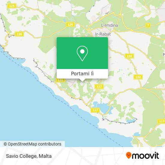 Mappa Savio College