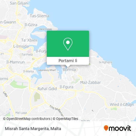 Mappa Misrah Santa Margerita