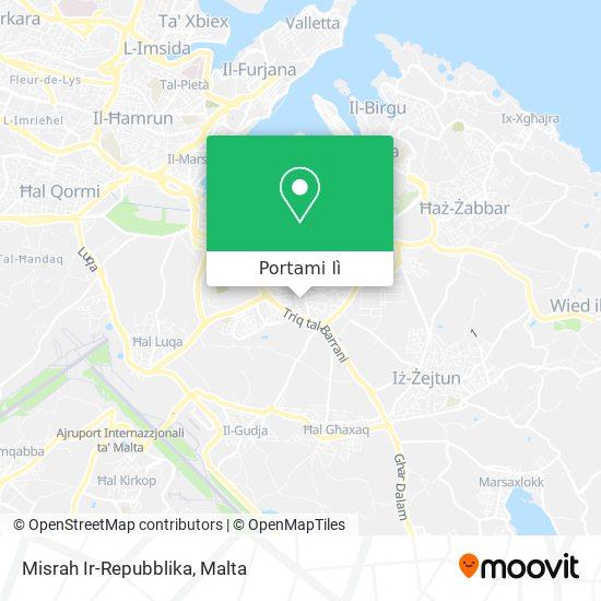 Mappa Misrah Ir-Repubblika