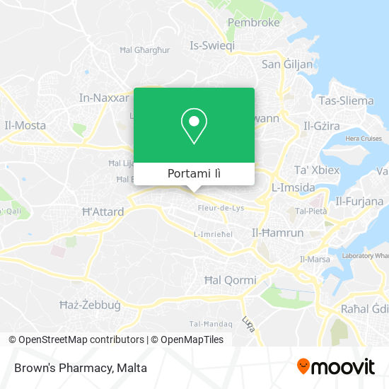 Mappa Fleur-De-Lys