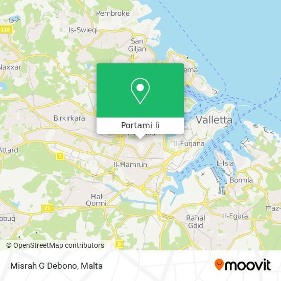 Mappa Misrah G Debono