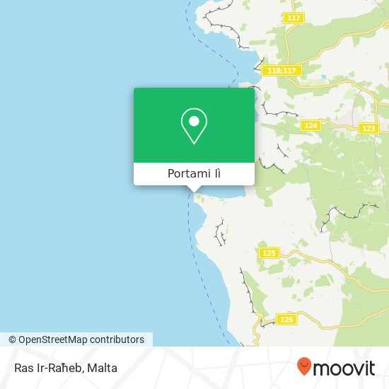 Mappa Ras Ir-Raħeb