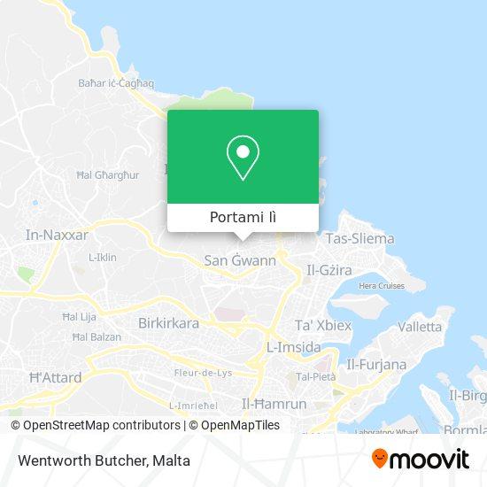 Mappa Wentworth Butcher