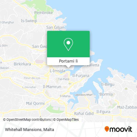 Mappa Whitehall Mansions