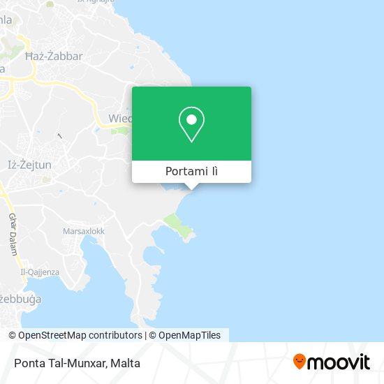 Mappa Ponta Tal-Munxar