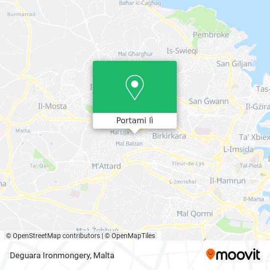 Mappa Deguara Ironmongery