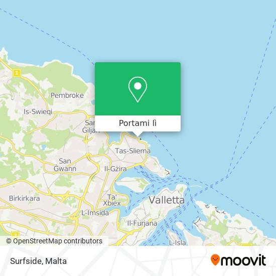 Mappa Surfside