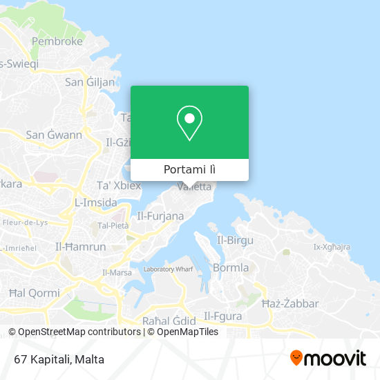 Mappa Il-Kapitali
