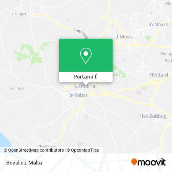 Mappa Beaulieu