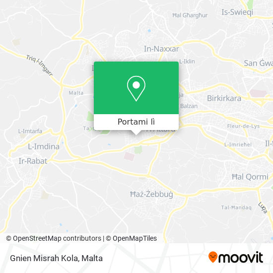 Mappa Gnien Misrah Kola
