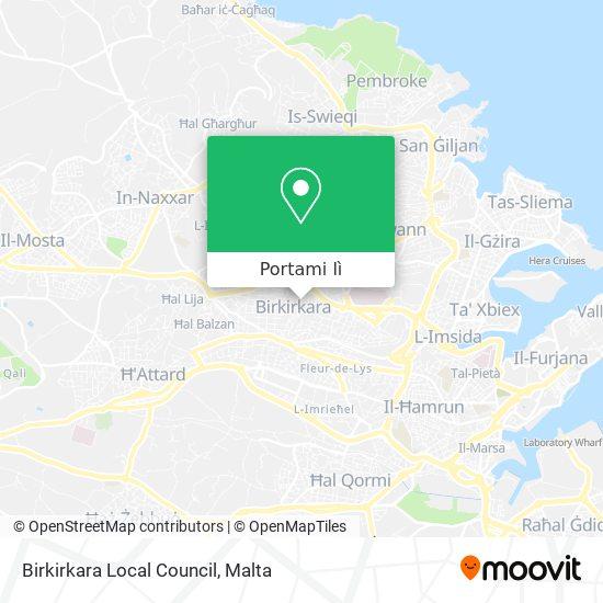 Mappa Birkirkara Local Council