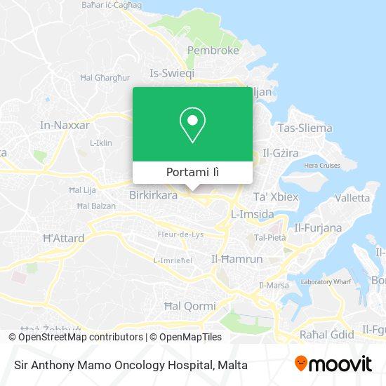 Mappa Sir Anthony Mamo Oncology Hospital