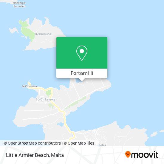 Mappa Little Armier Bay