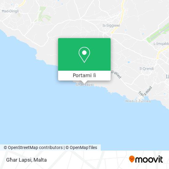 Mappa Għar Lapsi
