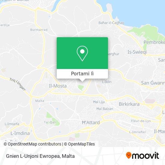 Mappa Gnien L-Unjoni Ewropea