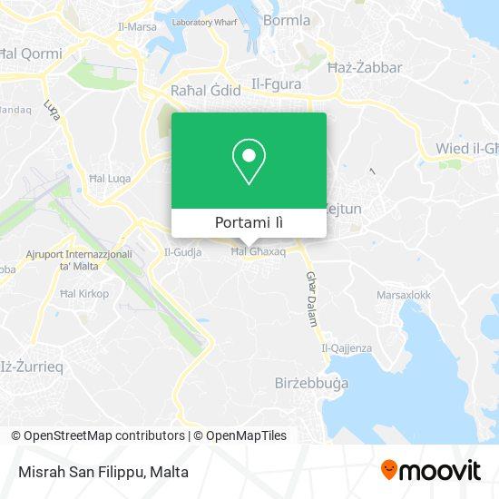 Mappa Misrah San Filippu