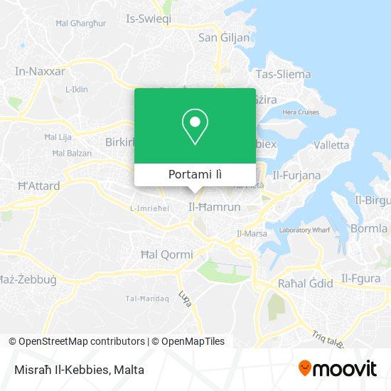 Mappa Misraħ Il-Kebbies