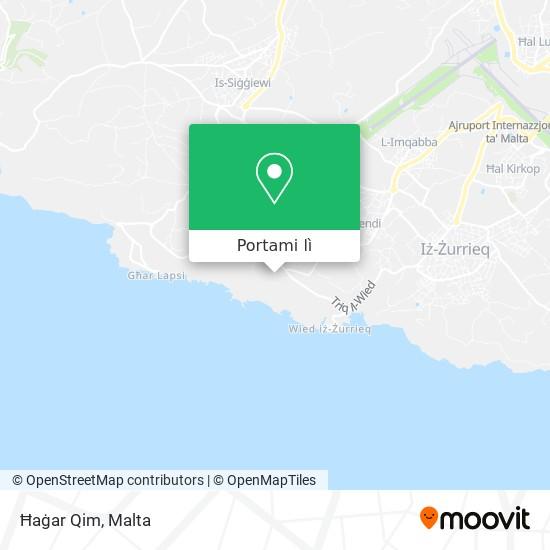 Mappa Ħaġar Qim