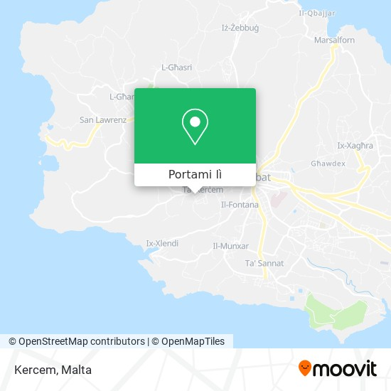 Mappa Kercem