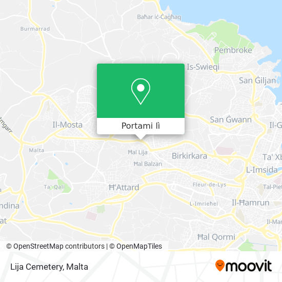 Mappa Lija Cemetery