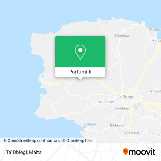 Mappa Ta' Dbiegi