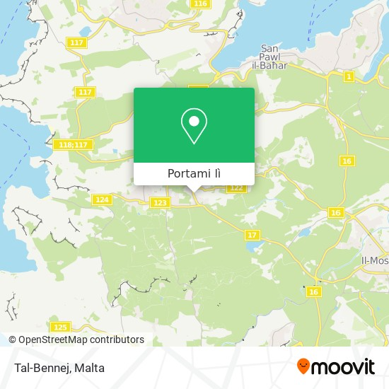Mappa Il-Bennej