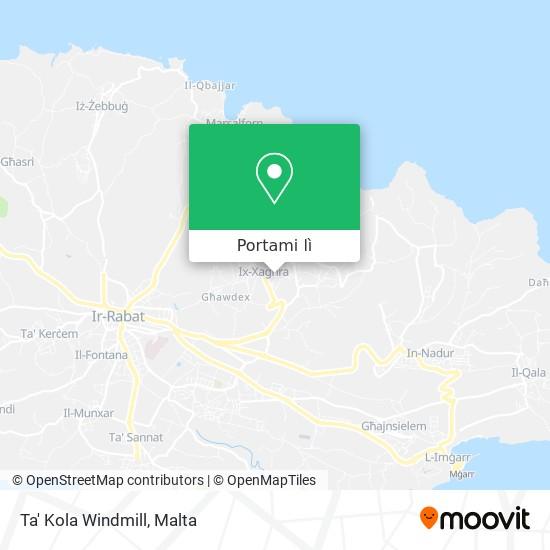 Mappa Ta' Kola Windmill