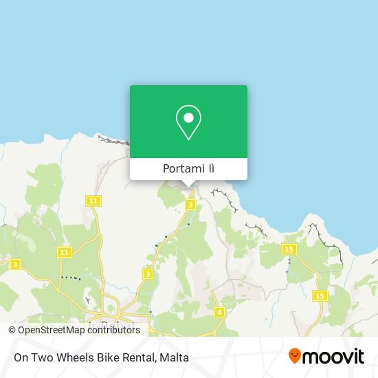 Mappa On Two Wheels Bike Rental