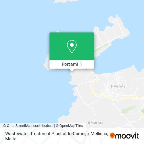 Mappa Wastewater Treatment Plant At Ic-Cumnija, Mellieha