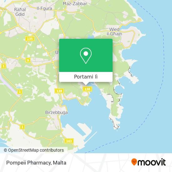 Mappa Pompeii Pharmacy