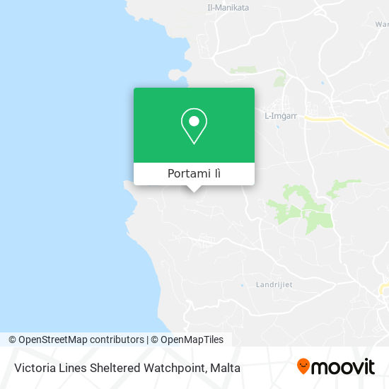 Mappa Victoria Lines Sheltered Watchpoint